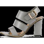BLOCK HEEL STRAPPY SANDALS - Sandals - $39.97