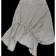 BRØGGER gingham mini skirt - Skirts -