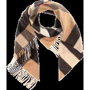 BURBERRY Check cashmere scarf - Scarf -