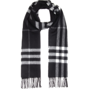 BURBERRY Giant Icon cashmere scarf - Scarf -