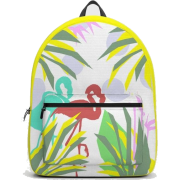 Backpack Flamingo jungle Society6 - Backpacks - $69.99