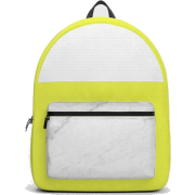 Backpack Marble yellow stripes Society6 - Backpacks - $69.99
