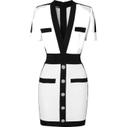 Balmain Two Tone Mini Dress - Haljine - $2,395.00  ~ 15.214,41kn