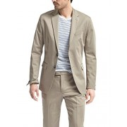 Banana Republic Men's Slim Fit Stretch Cotton Two Button Blazer Jacker Acorn 42R Regular - Shirts - $135.00