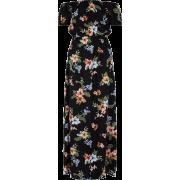 Bardot Floral Maxi Dress - Dresses -