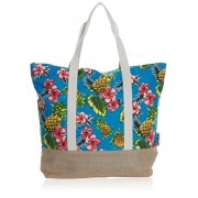 Beach Bag by Pier 17 – Beach Tote Bag Extra Large and Roomy with Zipper Closure - Bag - $19.95