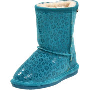 Bearpaw Cimi Shearling Boot (Little Kid/Big Kid) Teal - Boots - $59.99