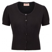 Belle Poque Women Short Sleeve Bolero Cardigan Shrug BP707 - Flats - $12.99
