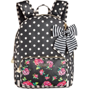 Betsey Johnson Large Bow Backpack - Plecaki -