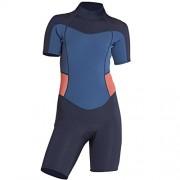 Billabong Girls' Girls' (2-6) Synergy Back Zip Short Sleeve Springsuit - Resto - $49.95  ~ 42.90€