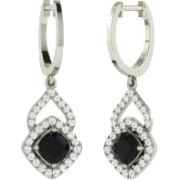 Black Earring - Earrings -
