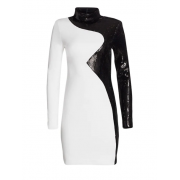 Black and white cocktail dress - My look -