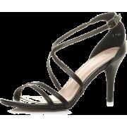Black sandal - Sandale -