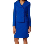 Blue suit (Tahari) - People -
