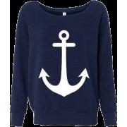 Blusa Marinha - Long sleeves shirts -
