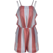Bold Striped Playsuit - Altro -