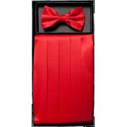 Boys Red Solid Cummerbund and Bow Tie Set - Tie - $19.95