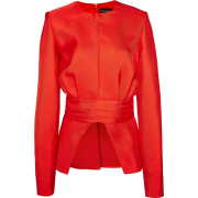 Brandon Maxwell Belted Waist Satin Twill - Suits - $1,495.00