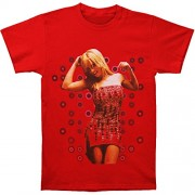 Britney Spears Men's Beaded Dress T-shirt Red - Camisa - curtas - $28.06  ~ 24.10€