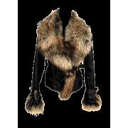 Jakna kožna krzno - Jacket - coats -