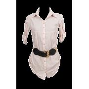 Košulja roze - Camisa - curtas -