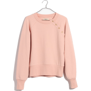 Button-Detail Sweatshirt - Hemden - lang - $59.50  ~ 51.10€