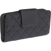 Buxton Buffalo Quilt Ensemble Clutch Black - Clutch bags - $38.00