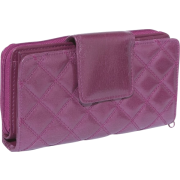 Buxton Buffalo Quilt Ensemble Clutch Gypsy Rose - Clutch bags - $35.99