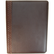 Buxton Writing Pad Brown - Accessories - $11.99