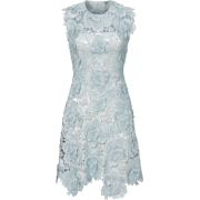 CATHERINE DEANE light blue lace dress - Dresses -