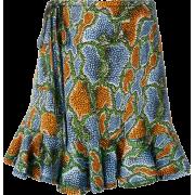 CHLOÉ minijupe imprimée à ourlet volanté - 裙子 -