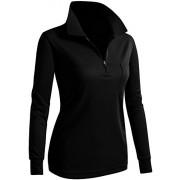 CLOVERY Women's Active Wear POLO Pocket Shirt Long Sleeve - Long sleeves t-shirts - $19.99