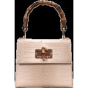 CROC BAMBOO HANDLE CROSSBODY BAG (4 COLO - Messenger bags - $42.97