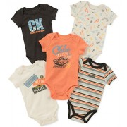 Calvin Klein Baby Boys 5 Pack Bodysuits - Pants - $18.40