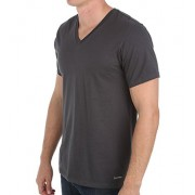 Calvin Klein Men's Cotton Classics Short Sleeve V-Neck T-Shirt - Underwear - $18.75