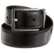 Calvin Klein Men's Smooth Leather Reversible Feather-Edge Belt - Accessories - $27.99