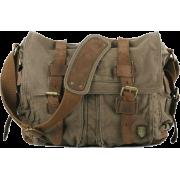 Canvas Military Messenger Bag - Kurier taschen - $89.99  ~ 77.29€