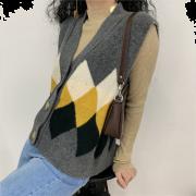 Cardigan sleeveless sweater vest - Westen - $29.99  ~ 25.76€