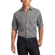Carhartt Men's Long-Sleeve Light Weight Plaid Shirt Bluestone - Long sleeves shirts - $16.22