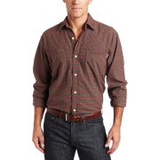Carhartt Men's Long-Sleeve Light Weight Plaid Shirt Bordeaux - Long sleeves shirts - $16.22