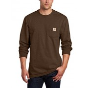 Carhartt Men's Workwear Midweight Jersey Pocket Long-Sleeve T-Shirt K126 - T-shirts - $16.79