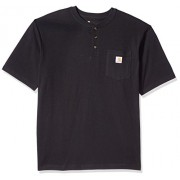 Carhartt Men's Workwear Pocket Short Sleeve Henley Original Fit Shirt K84 - T-shirts - $16.99