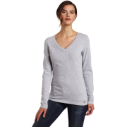 Carhartt Women's Lightweight Long Sleeve V-Neck Tshirt, Heather Gray, X-Large Heather Gray - Long sleeves t-shirts - $17.00