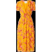 Carolina Herrera Floral Midi Dress - Haljine -