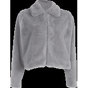 Cashmere sexy thick warm coat - Jacket - coats - $45.99