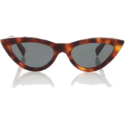 Celine brown cat eye sunglasses - 墨镜 -