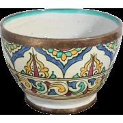 Ceramic Glazed Bowl Handmade in Fez 1960 - Muebles -