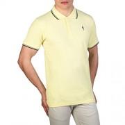 Cesare Paciotti Plo_M1_Giallo_Navy Polo - Shirts - $33.99