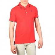 Cesare Paciotti Plo_M1_Rosso_Navy Polo - Shirts - $33.99