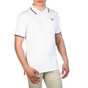Cesare Paciotti Plo_M2_Bianco Polo - Shirts - $33.99